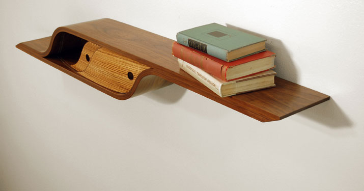 Curved Wall Shelf